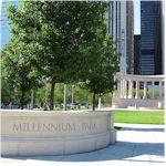 picture of millennium park