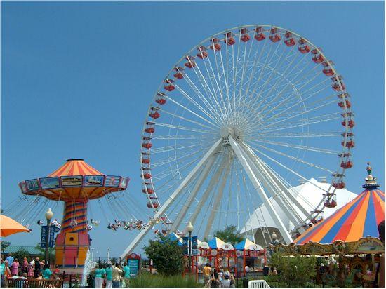 Navy Pier Park Rides